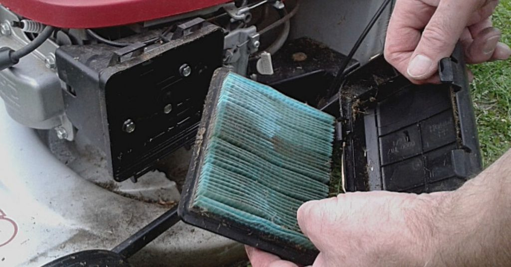 How To Clean Lawn Mower Air Filter