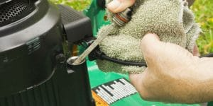 How To Check The Mowers Oil Level