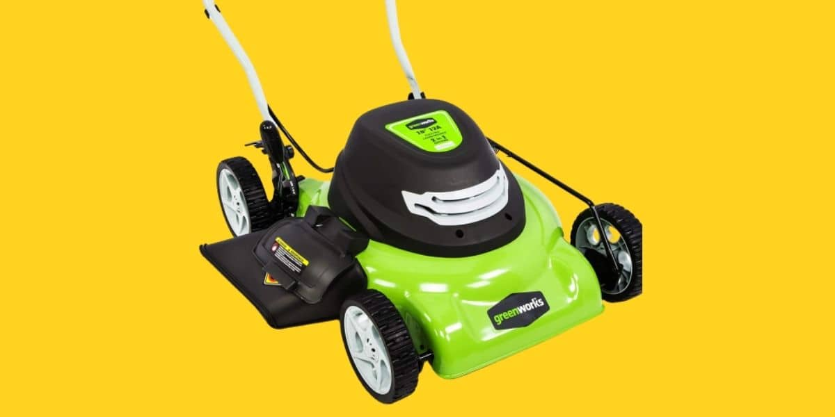 Greenworks 25012 mower review