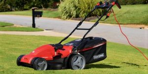 Benefit of a corded eletric lawn mower