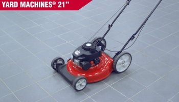Yard Machines 140cc 21-Inch Push Mower review